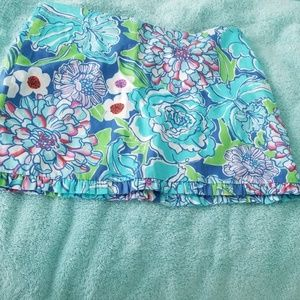 Lilly Pulitzer size 00 short skirt